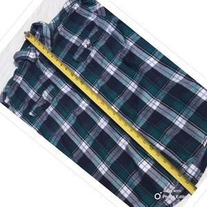 Faded Glory Shirts - MENS FLANNEL COTTON PLAID SHIRT LONG SLEEVE BUTTON